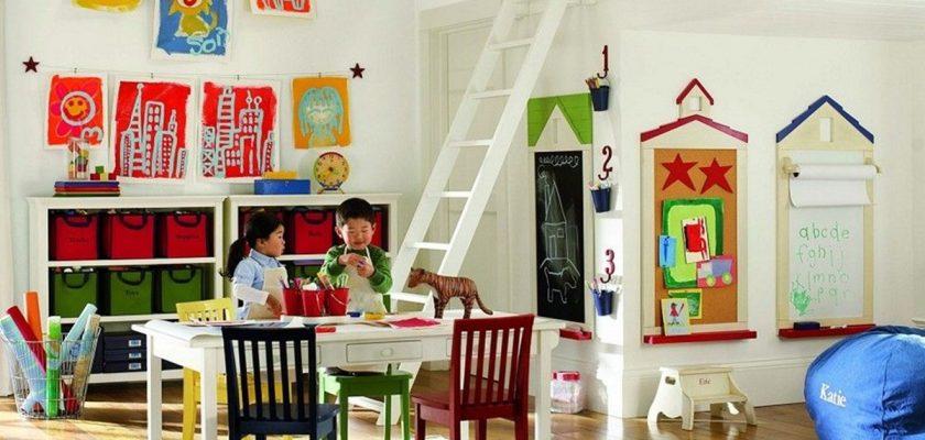 Çocuk Odalarında Oyun Köşesi Önerileri